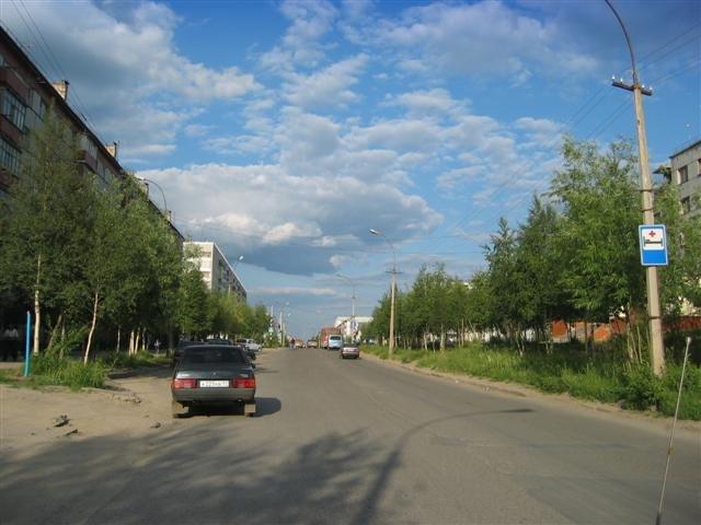 ул.60 лет Октября, Усинск