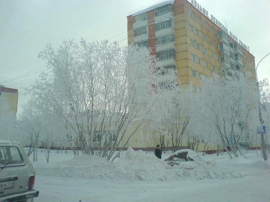 Морозный Усинск, Усинск