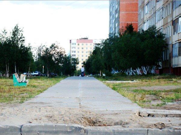 ул.Мира, Усинск