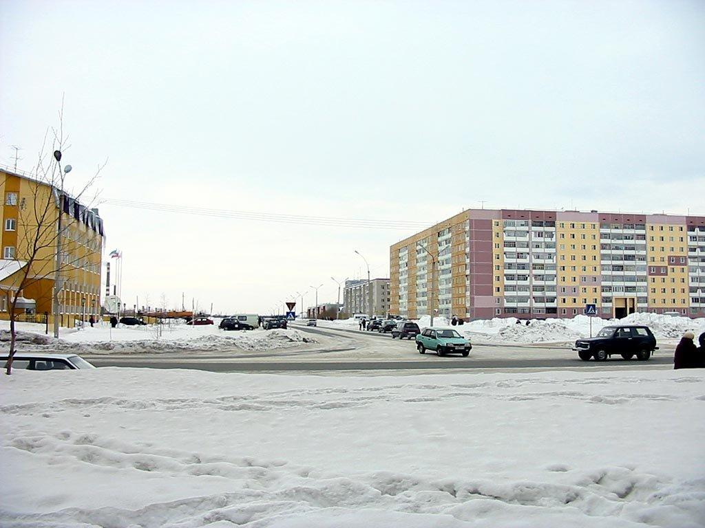 Нефтяников и Приполярная, Усинск