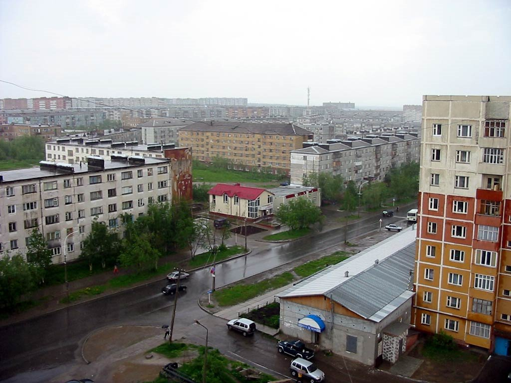Парковая, Усинск