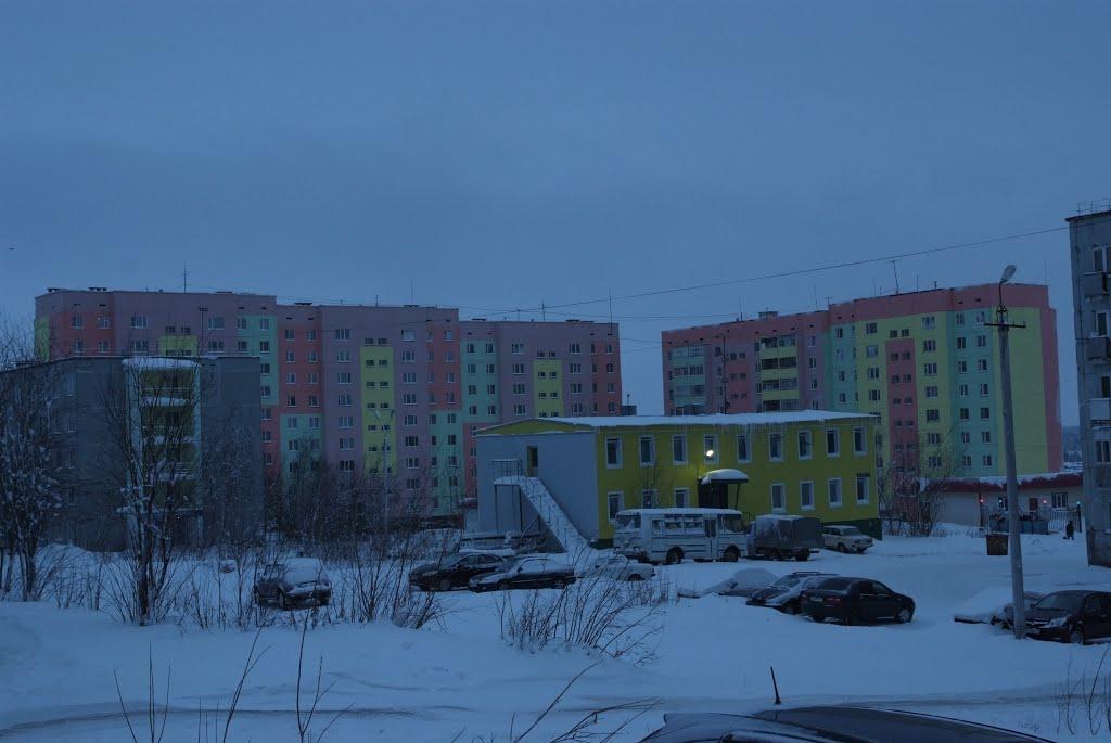 Домики Усинска, Усинск