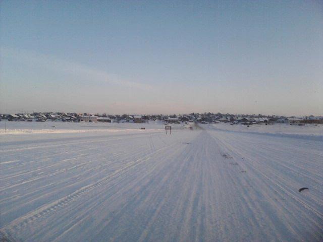 Переправа зима 2010, Усть-Цильма
