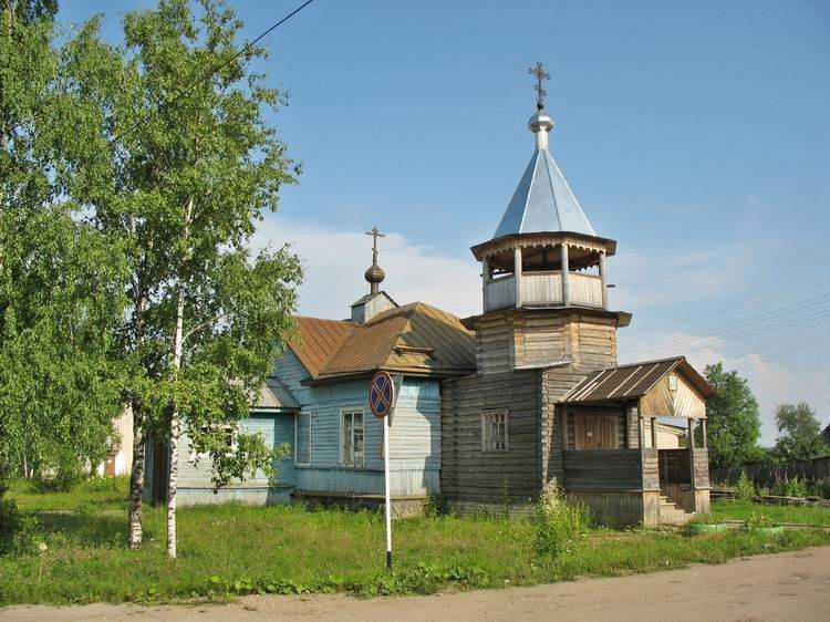 Церковь преп. Геннадия Костромского в поселке Антропово., Антропово