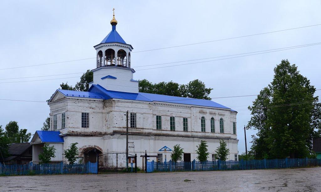 Боговарово. Белая церковь, Боговарово