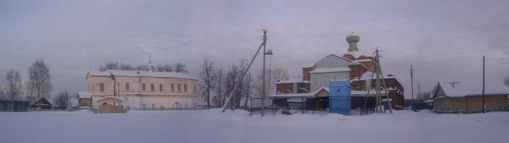 Панорама площади, Боговарово