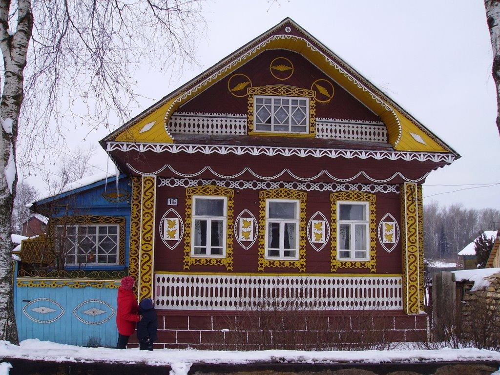 Красивый дом за р.Костромой, Буй