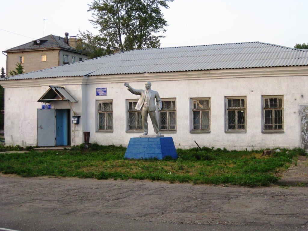 Поезд Хабаровск-Москва.Июль 2010.Станция Буй.Владимир Ильич..., Буй