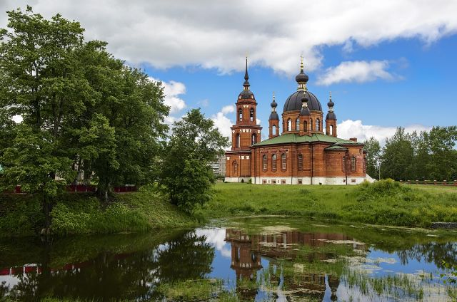 Церковь Тихона Луховского, Волгореченск