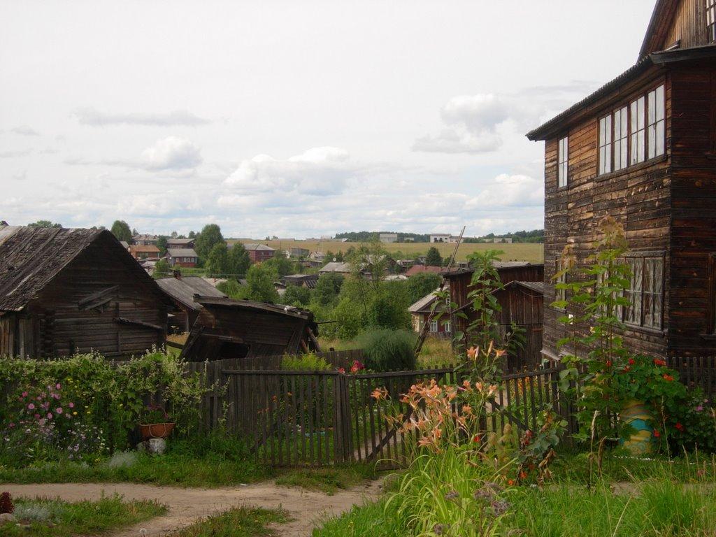 кологрив. вид на город, Кологрив