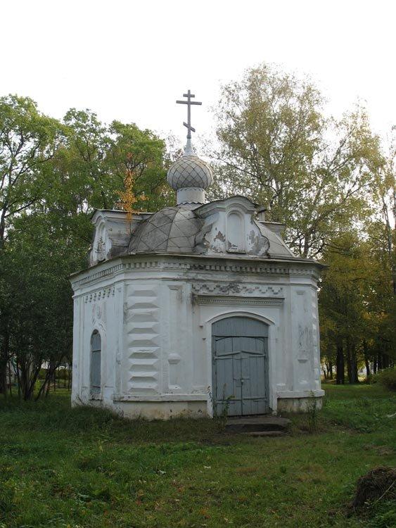 Часовня в ограде храма Воскресения Христова, города Кологрива., Кологрив