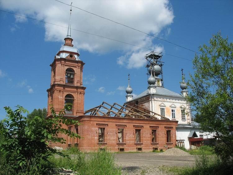 Николаевская церковь села Мокровского (Мантурова)., Мантурово