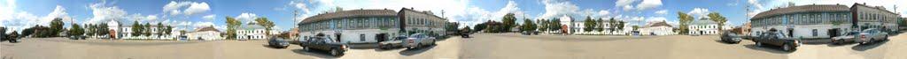 Судиславль панорама центральной площади, Судиславль
