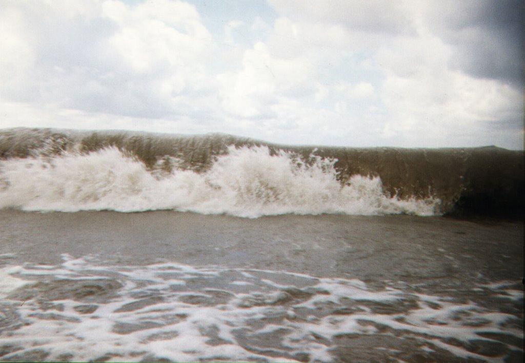 Джубга 1998. Черное море. Шторм, Джубга