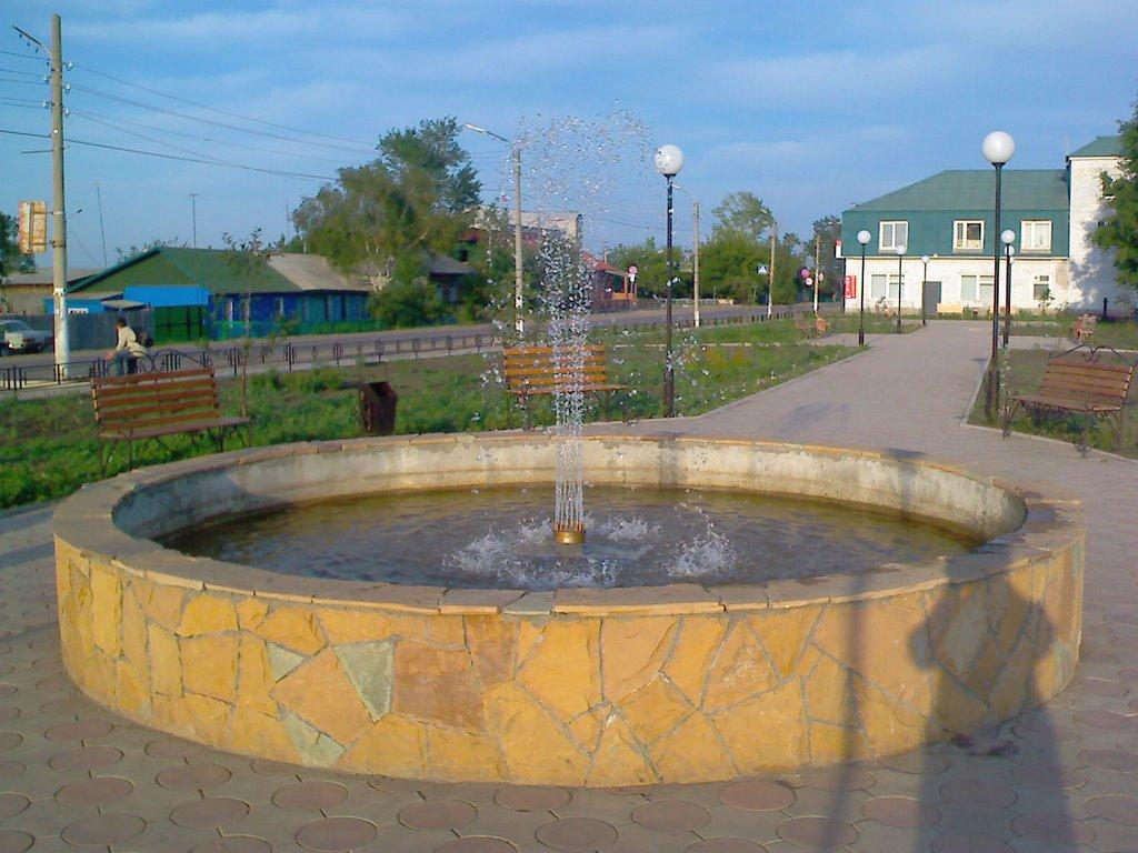Фонтан в сквере Емельяново, Емельяново