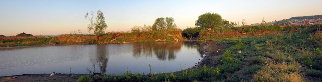 Плотина.(прорванная...), Емельяново