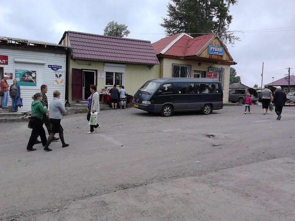 автобус до ачинска, Козулька