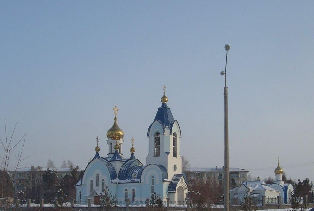 Сосновоборский Свято-Введенский Храм, Сосновоборск