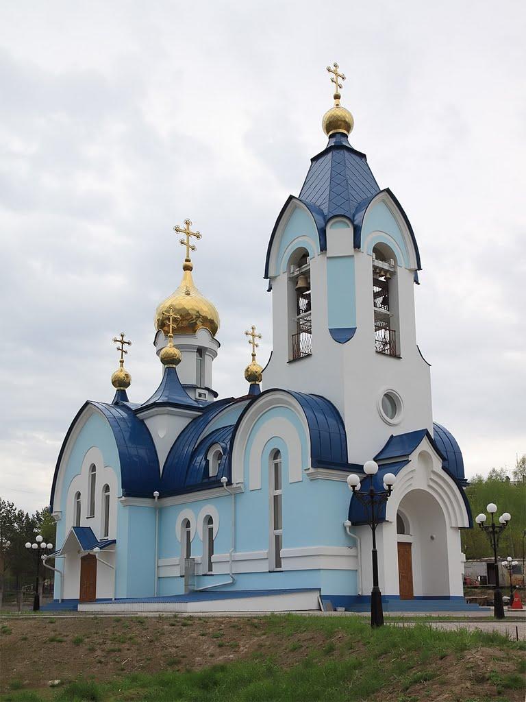 Церковь в Сосновоборске, Сосновоборск