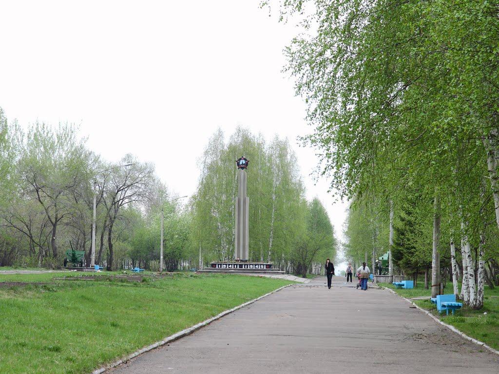 Аллея Победы, Сосновоборск
