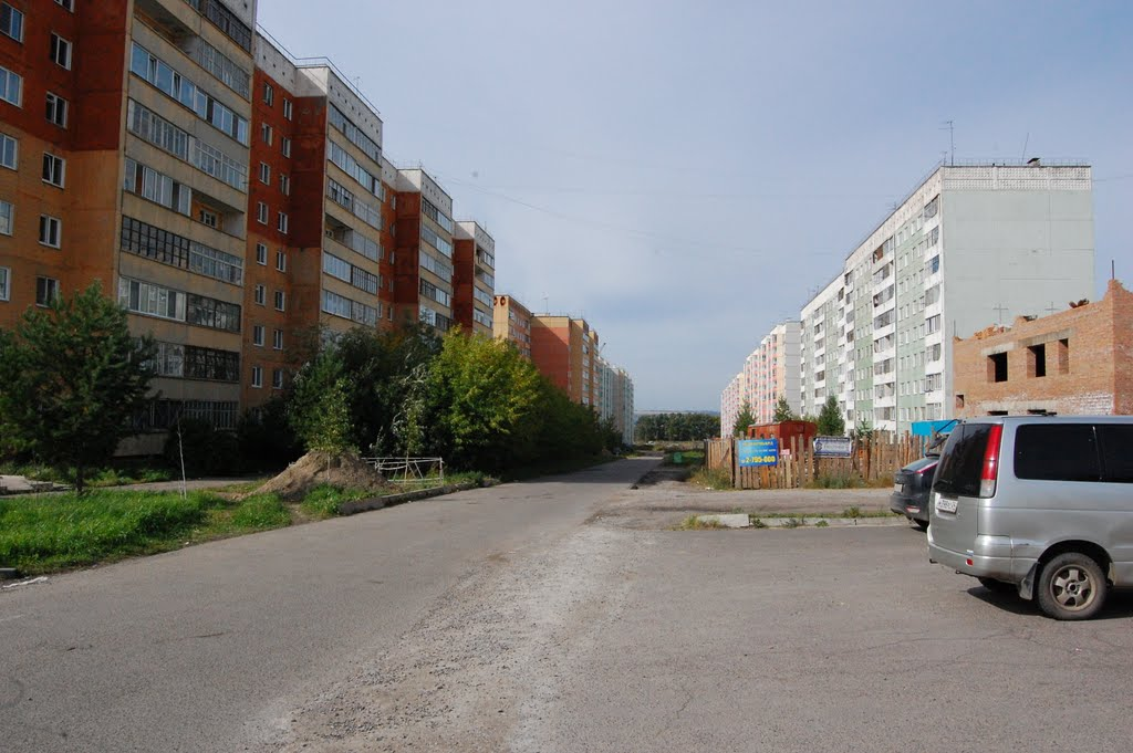 новостройки, Сосновоборск