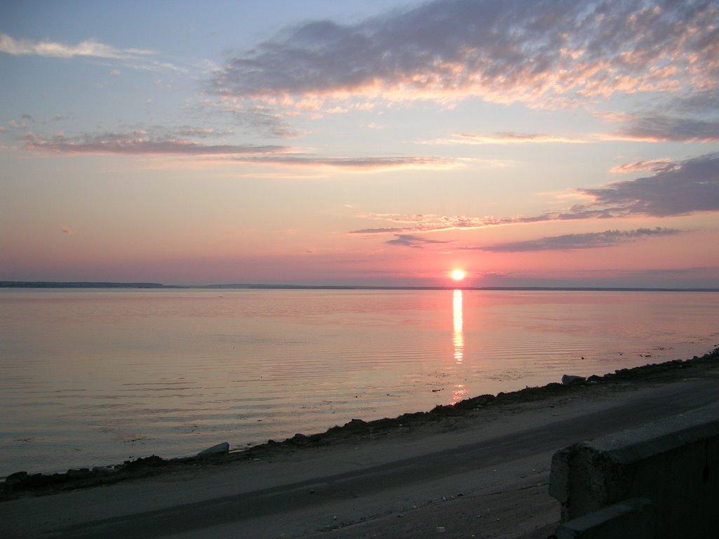 Восход Солнца Над Волгой, Козьмодемьянск