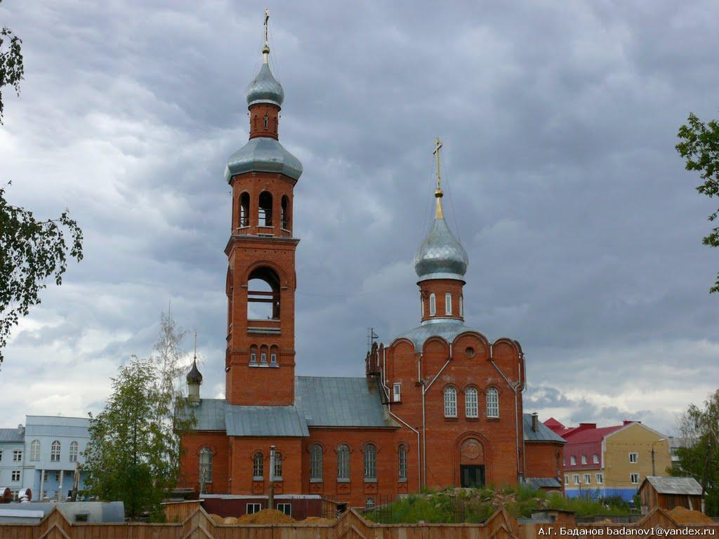 Храм Медведево, Медведево