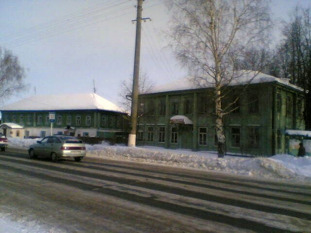 Дома в центре Оршанки, Оршанка