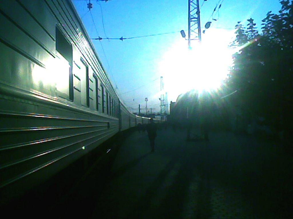 Отправление со станции Рузаевка, Рузаевка