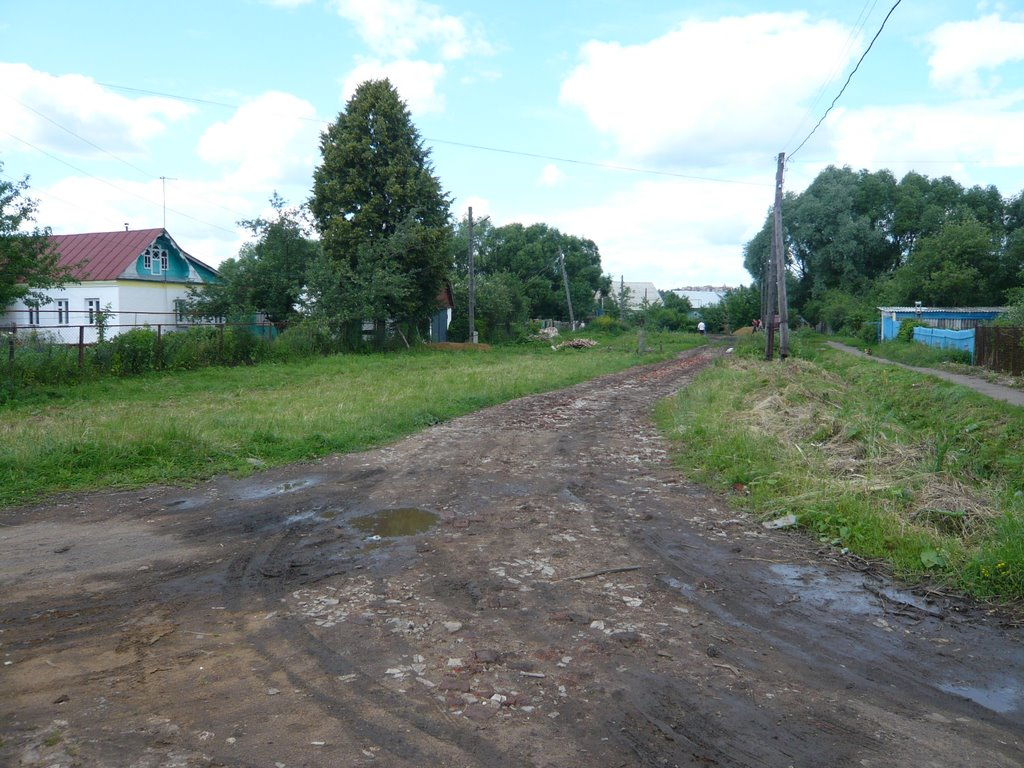 Ул. Фрунзе, Рузаевка