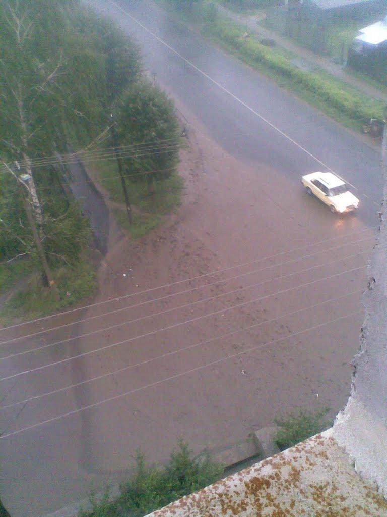 Ручей после дождя, Рузаевка