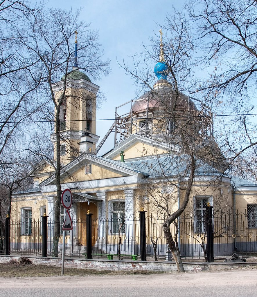 Church of St Cosmas and St Damian / Korolev, Russia, Королев