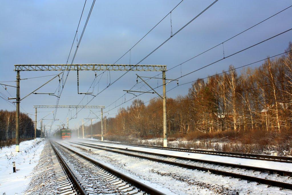 Winter Railway, Востряково