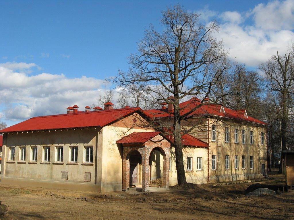 Культурно-просветительский центр (строится)), Красный Ткач