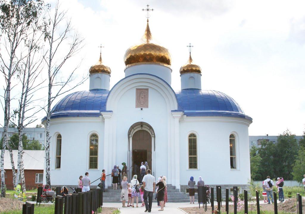 """Церковь """"Благодатное небо"""", Кубинка"""