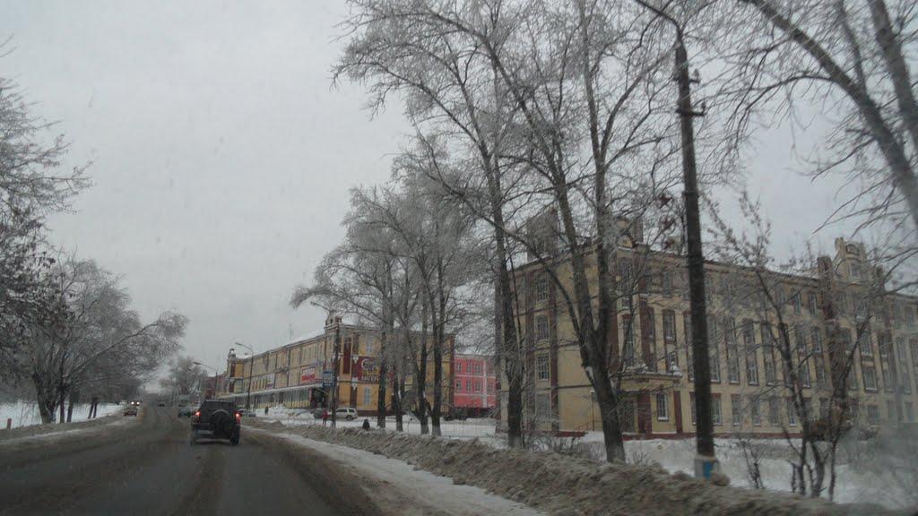 В этом городе делают автобусы ЛИАЗ, Ликино-Дулево