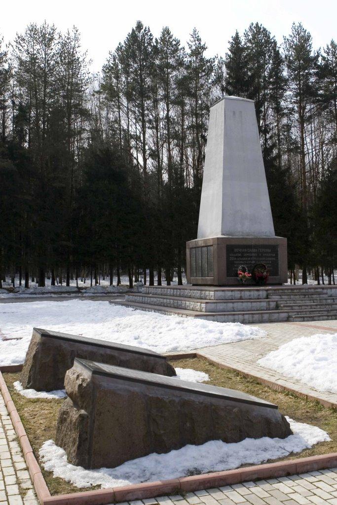 Братская могила бойцов 201-й Латышской дивизии, Нарофоминск