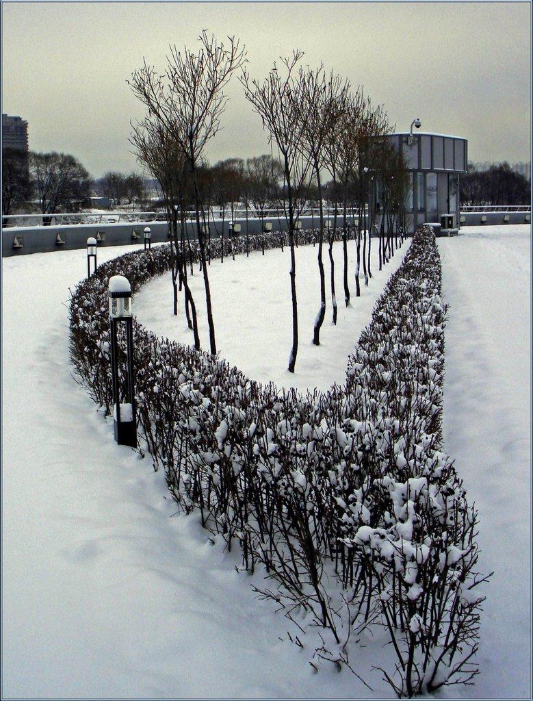 Зимняя геометрия / Winter geometry, Новоподрезково