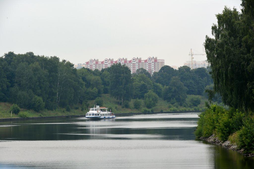 Ulitsa Pushkina (Starbeevo), Khimki, Moskovskaya oblast, Russia., Старбеево