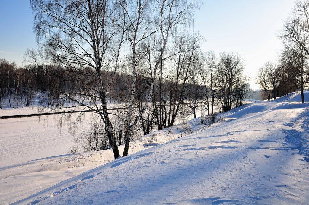 Вид от Старбеево в Сторону Химок, Старбеево