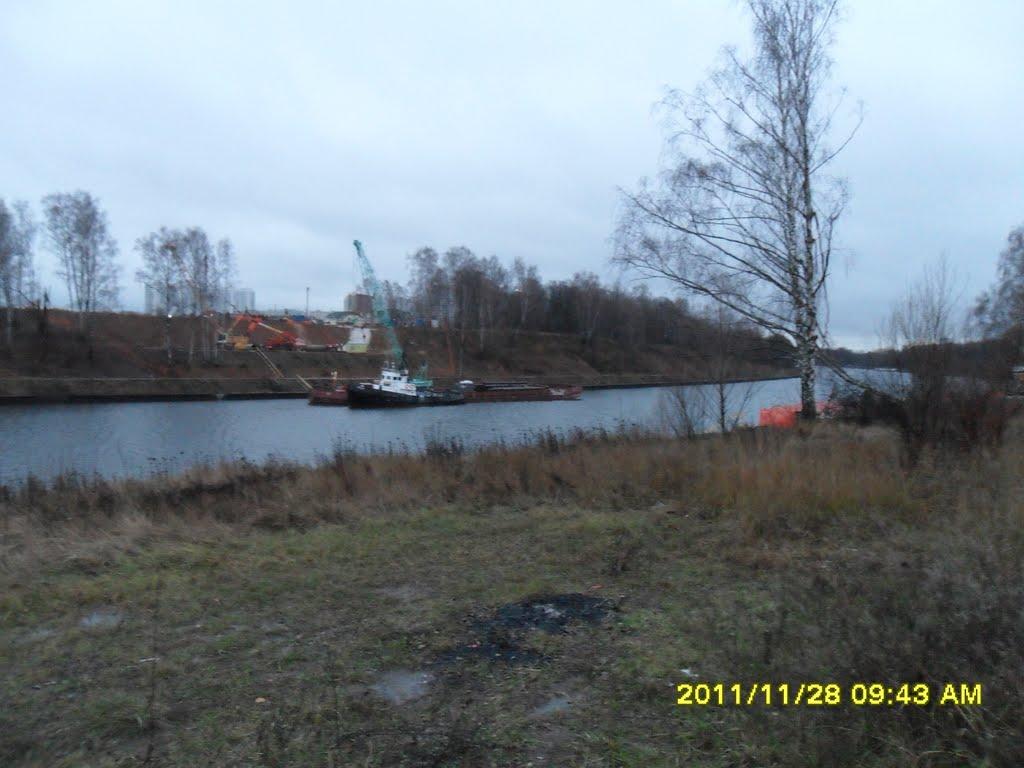 Дублёр Ленинградки. Здесь будет мост., Старбеево