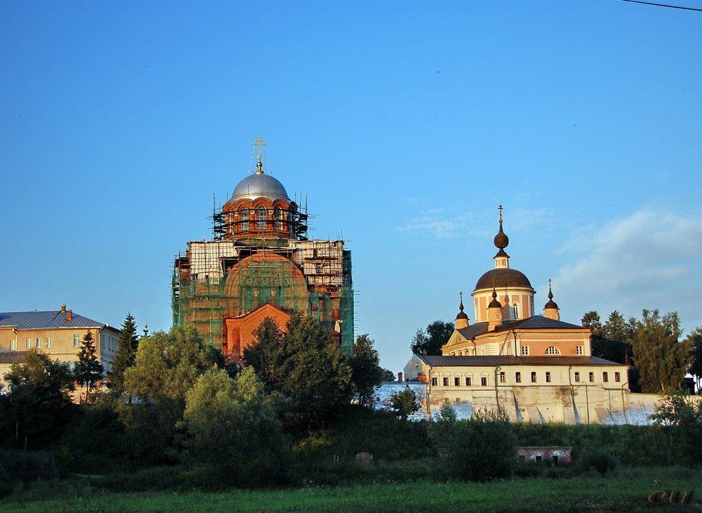 Хотьково. Покровский Хотьков монастырь, Хотьково