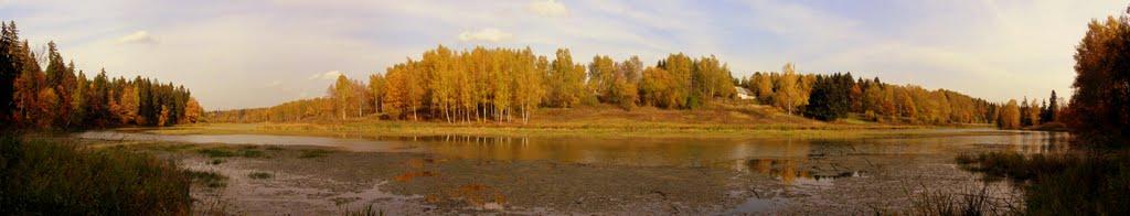 Запруда на реке Воря, Хотьково