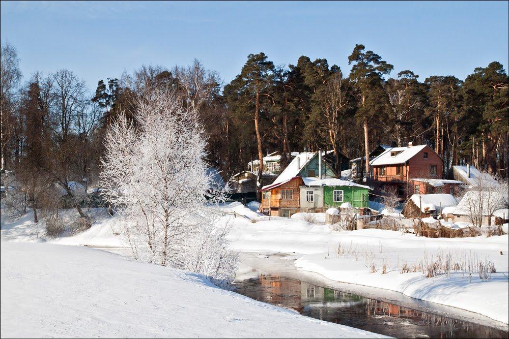 Дома у реки, Черкизово