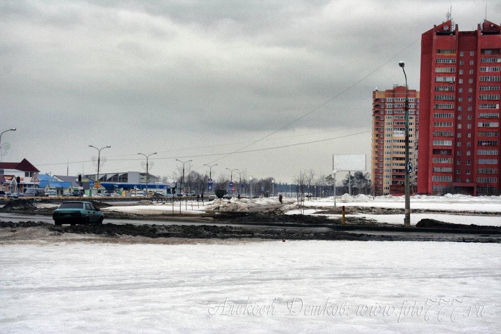 пересечение ул.Центральная и Институтского пр-та, Черноголовка