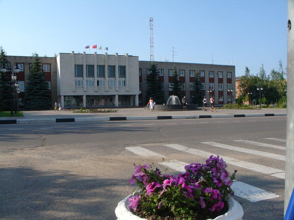 Центр Шаховской, Шаховская