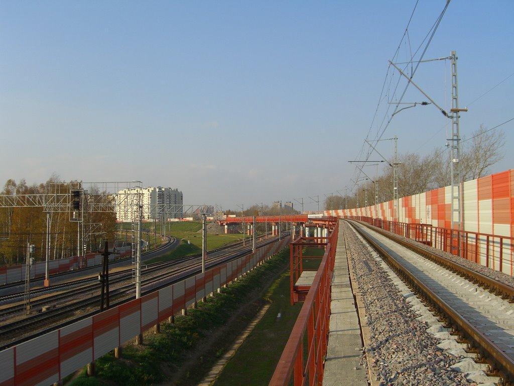 на мосту, Шереметьевский