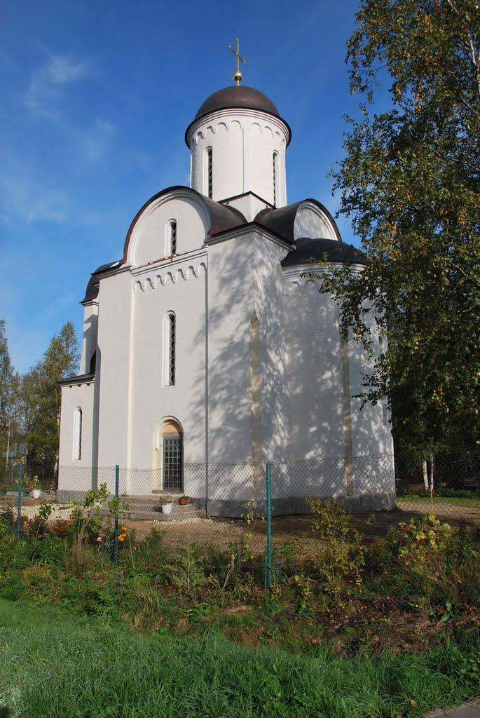 Церковь-часовня Покрова Божией матери в Шереметьевском., Шереметьевский