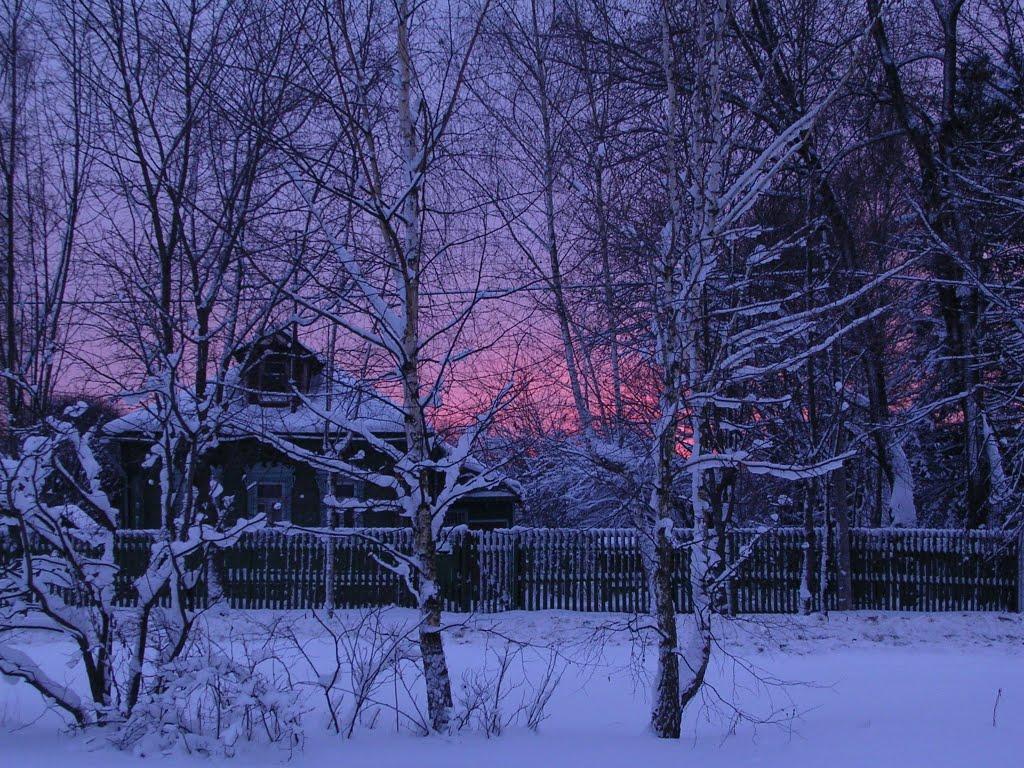 Одноэтажная Россия (Щёлково - январь 2010), Щелково
