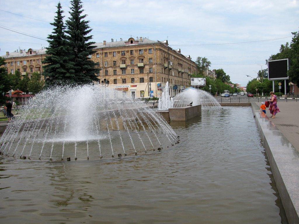 фонтан, Электросталь